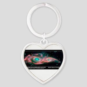 chart Heart Keychain