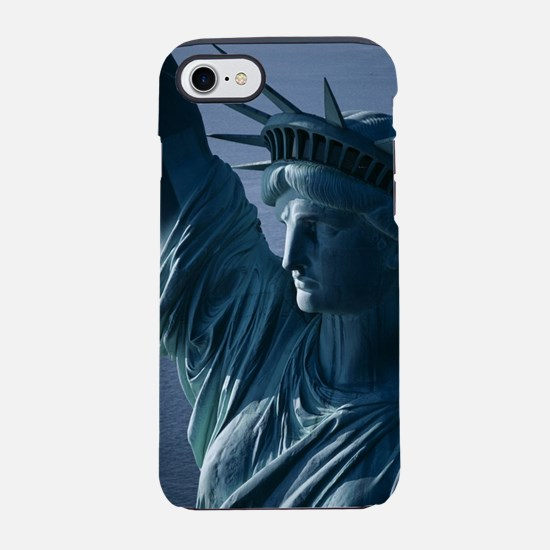 Statue of Liberty Closeup Phot iPhone 7 Tough Case