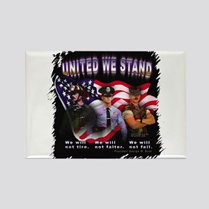 United We Stand Image Rectangle Magnet