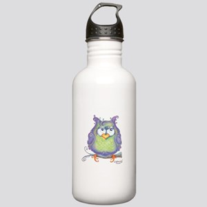 Betty the purple owl Stainless Water Bottle 1.0L