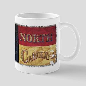NC Flag Faded Mug