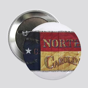 "NC Flag Faded 2.25"" Button"