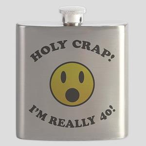 Holy Crap I'm 40! Flask