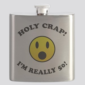 Holy Crap I'm 50! Flask