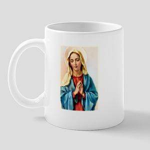 Praying Mary Mug