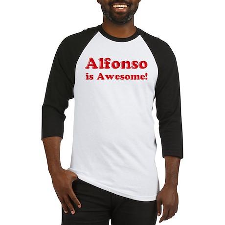 Alfonso is Awesome Baseball Jersey