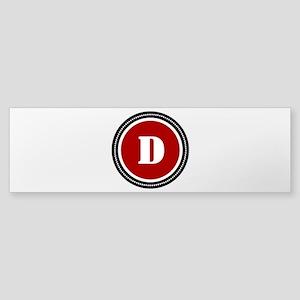 Red Sticker (Bumper)