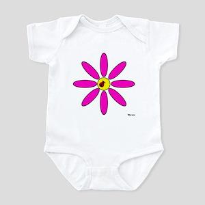 LADYBUG FLOWER Infant Bodysuit