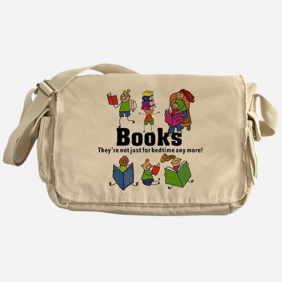 Books Bedtime Messenger Bag