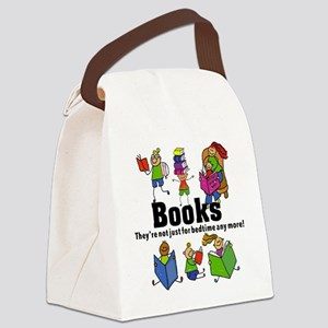 Books Bedtime Canvas Lunch Bag