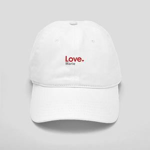 Love Marie Baseball Cap