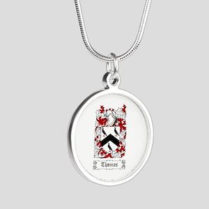 Thomas Silver Round Necklace