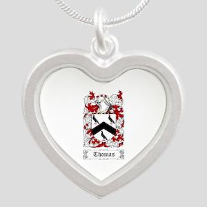 Thomas Silver Heart Necklace
