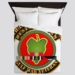 Army - DS - 24th INF Div Queen Duvet