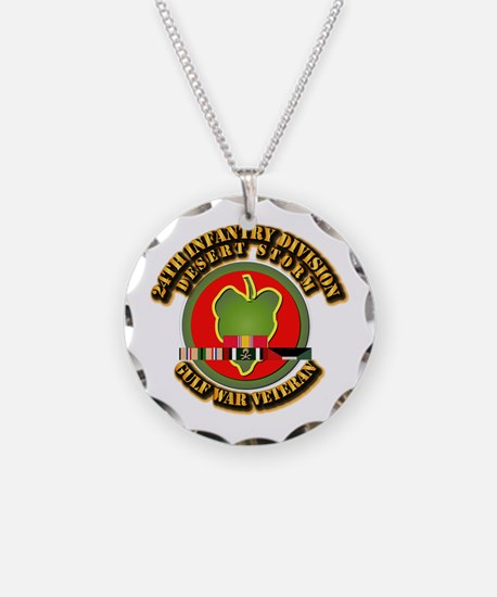 Army - DS - 24th INF Div Necklace