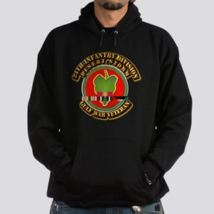 Army - DS - 24th INF Div Hoodie (dark)