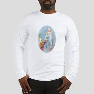 Virgin Mary - Lourdes Long Sleeve T-Shirt