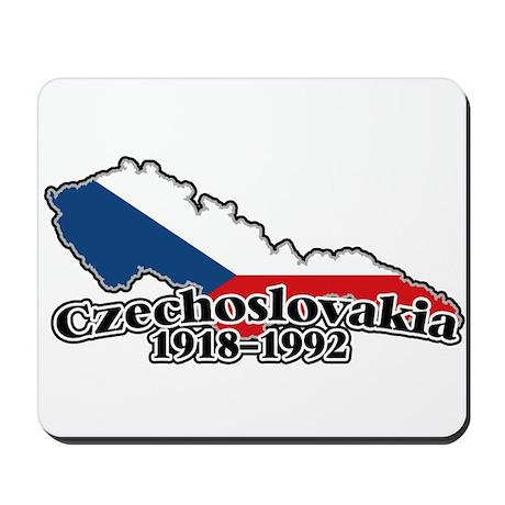 Czechoslovakia Logo (1918-1992) Mousepad