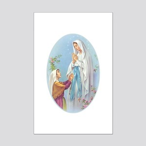 Virgin Mary - Lourdes Mini Poster Print
