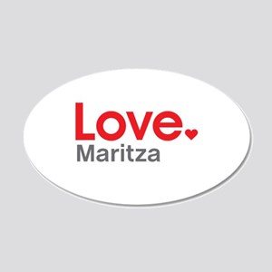 Love Maritza Wall Decal