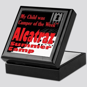 Alcatraz Summer Camp Keepsake Box