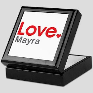 Love Mayra Keepsake Box