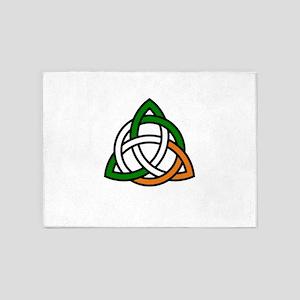 irish celtic knot 5'x7'Area Rug