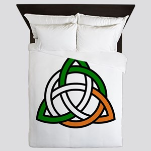 irish celtic knot Queen Duvet