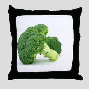 F & V - Broccoli Design Throw Pillow