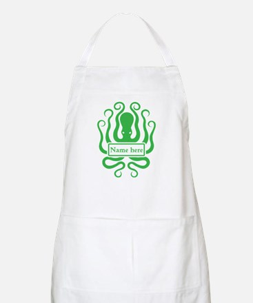 Custom Octopus Design Apron