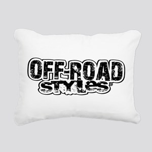 Off-Road Styles Rectangular Canvas Pillow