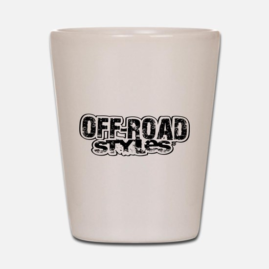 Off-Road Styles Shot Glass