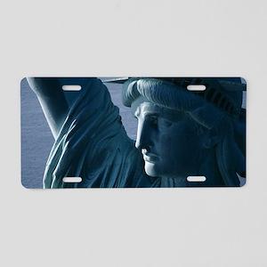 Statue of Liberty Closeup P Aluminum License Plate