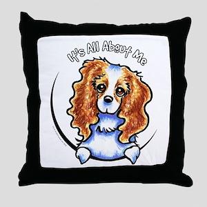 CKCS Blenheim IAAM Throw Pillow