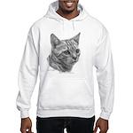 Bengal Cat Hooded Sweatshirt
