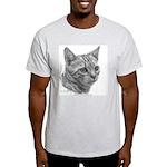 Bengal Cat Ash Grey T-Shirt