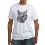 Bengal Cat Fitted T-Shirt