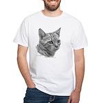 Bengal Cat White T-Shirt