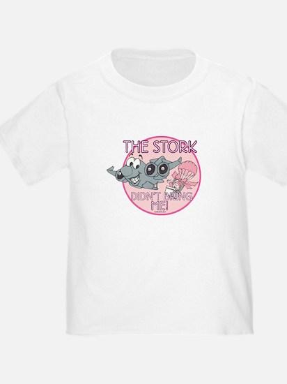 The Stork Didn't Bring Me GirlsToddler T-Shirt
