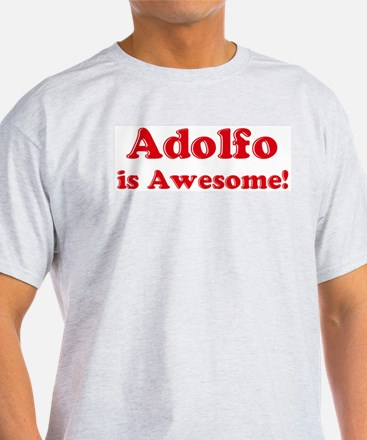 Adolfo is Awesome Ash Grey T-Shirt