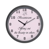 Beauty salon Wall Clocks