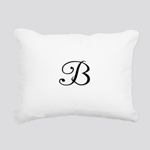 A Yummy Apology Monogram B Rectangular Canvas Pill
