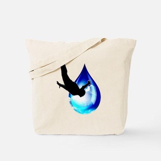 Sky Drop Tote Bag