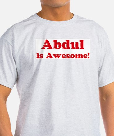 Abdul is Awesome Ash Grey T-Shirt