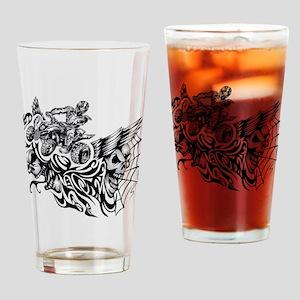 Quad Blazed Wickedness Drinking Glass