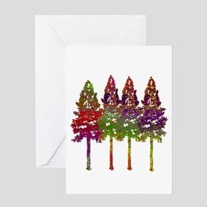 FOREST APPEAL Greeting Cards