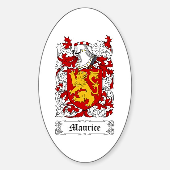 Maurice Sticker (Oval)