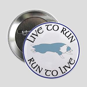 Blue BC Run To Live Logo Button