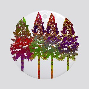 FOREST APPEAL Round Ornament