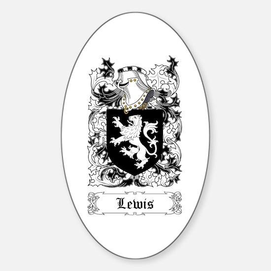 Lewis Sticker (Oval)